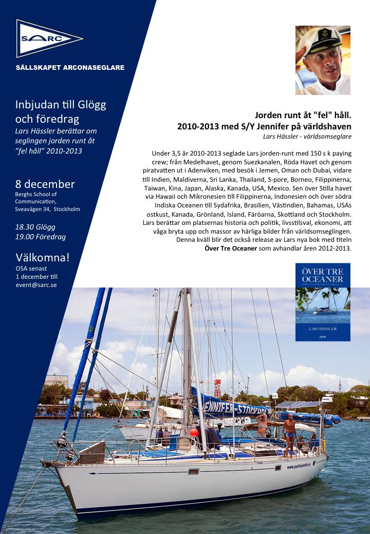 Inbjudan Glögg+Hässler 2014